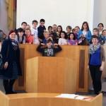 Die Grundschule Mainz-Bretzenheim besucht Pia im Landtag am 13.03.2014 im Landtag