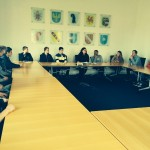 Der Sozialkunde-Leistungskurs mit Pia im Landtag
