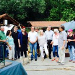 Daniel Köbler und Pia Schellhammer besuchen das Jugendhandwerkerdorf in Worms bei ihrer Sommertour am 31.Juli 2015