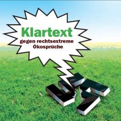Broschüre Klartext gegen rechtsextreme Ökosprüche - Umweltministerium Rheinland-Pfalz
