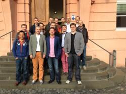 Queerer Stammtisch Speyer zum besuch im Landtag am 24.09.2015