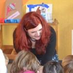 Pia besucht die Kita Lörzweiler